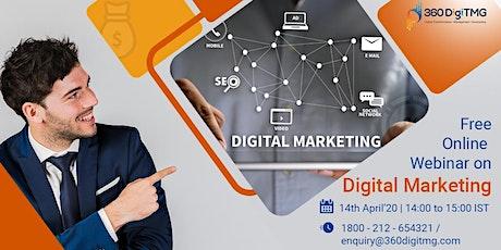 Free Online Webinar On Digital Marketing tickets