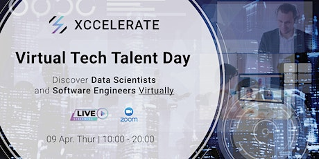 Tech Talent Day: Discover Data Scientists and Software Engineers (Live) tickets
