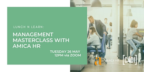 Lunch and Learn: Management Masterclass (Webinar) tickets