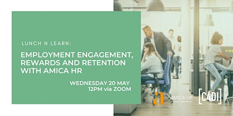 LunchNLearn: Employment Engagement, Rewards and Retention (Webinar) tickets
