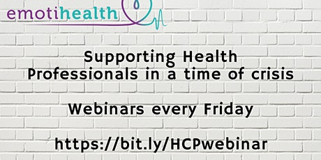 Supporting health professionals in this time of crisis tickets