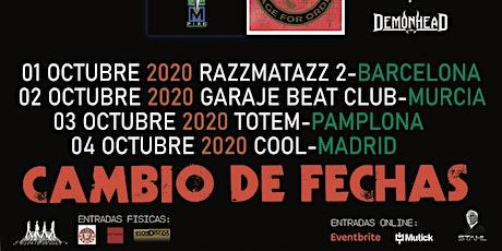 APLAZADO/CAMBIO DE FECHAS Geoff Tate -Empire 30th anniversary tour entradas
