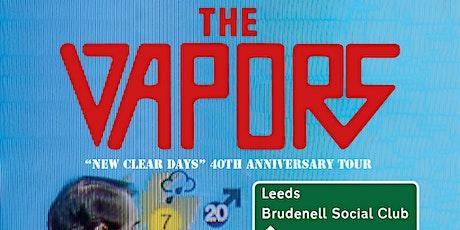 The Vapors tickets