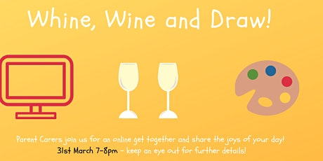 Whine, Wine and Draw! tickets
