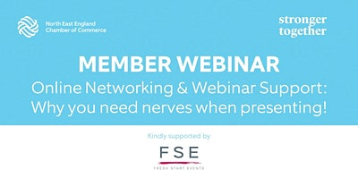 Online Networking & Webinar Support: Why you need nerves when presenting!