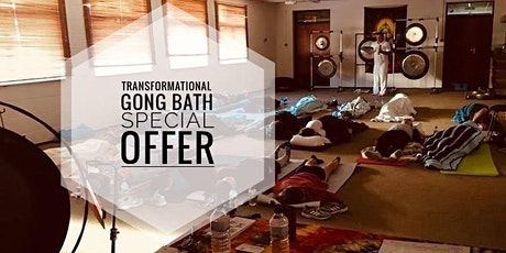 Transformational Gong Bath by B&J  in Woking - ONLINE EVENT tickets