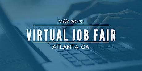 [Virtual] Atlanta Job Fair - May 20-22 tickets
