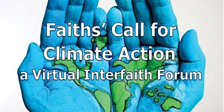 Faiths' Call for Climate Change - an interactive forum. tickets