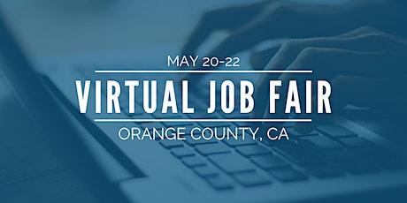 [Virtual] Orange County Job Fair - May 20-22 tickets