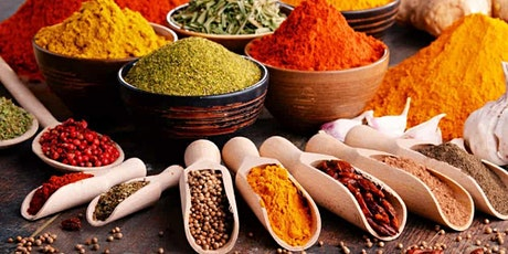 Spice tour experience followed by Vegan Indian meal  tickets