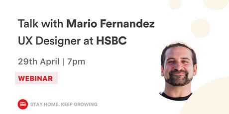 [WEBINAR] How HSBC creates addictive UX for its banking customers tickets