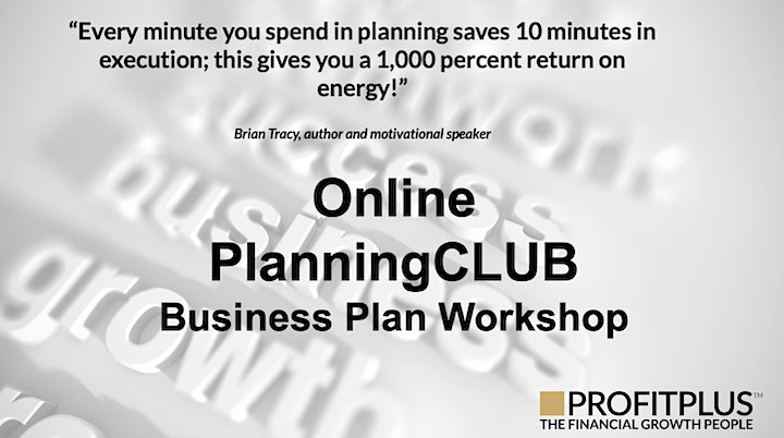 5-Year Business Planning Workshop - Create a Business Plan in Just 2-Days image