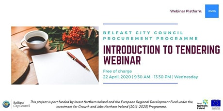 BCC Procurement Programme- Introduction to Tendering Webinar tickets