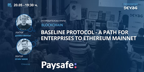 Webinar: Baseline Protocol - a path for Enterprises to Ethereum Mainnet tickets