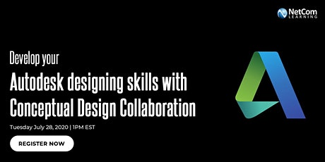 Webinar - Develop your Autodesk designing skills with Conceptual Design Collaboration tickets