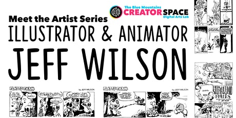 (Webinar) Artist Profile Series: Illustrator Jeff Wilson tickets