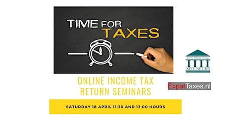 ONLINE Income Tax Return Seminar April_1 tickets