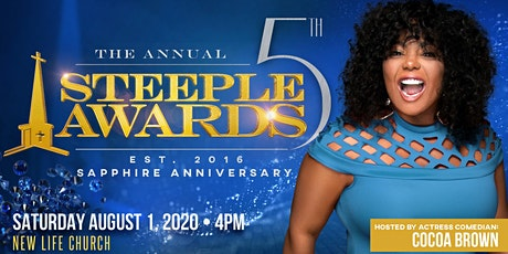 The 5th Annual Steeple Awards tickets