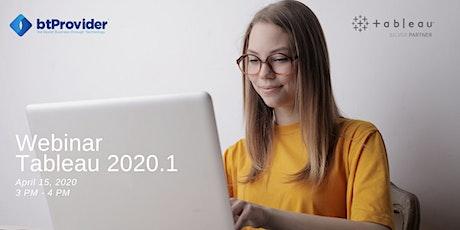 Webinar Tableau 2020.1 (Language RO) billets