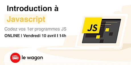 Webinar #5 - Introduction à Javascript billets