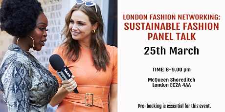 Online Fashion Networking: Sustainable Fashion Panel Talk tickets