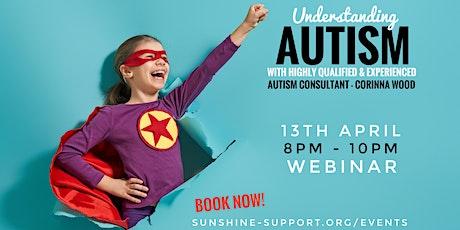 Understanding Autism Webinar tickets