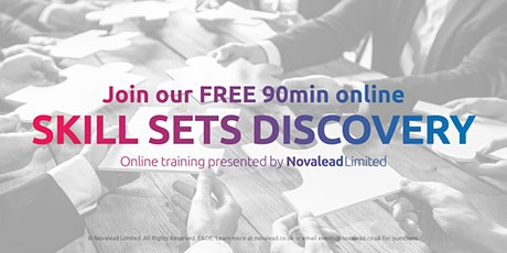 Join our FREE 90min Zoom Online Sales & Quality Skill Sets Training tickets