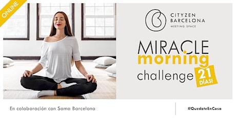 Miracle Morning ONLINE - Challenge 21 días entradas