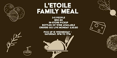 L'Etoile Family Meal tickets