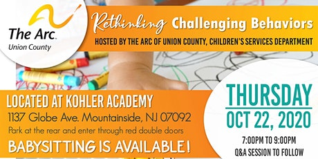 Rethinking Challenging Behaviors tickets