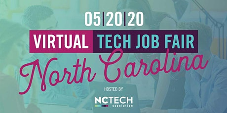 NC TECH Virtual Job Fair tickets