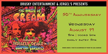 The Music of Cream – Disraeli Gears Tour + Clapton Classics tickets