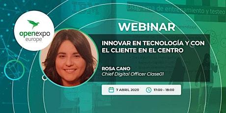 Innovar en tecnología y con el cliente en el centro  entradas