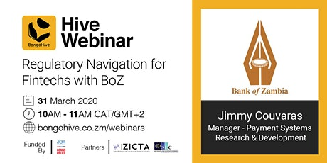 The Hive Webinar: Regulatory Navigation for Fintechs with BoZ tickets