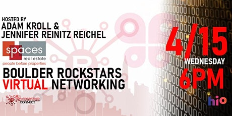 Free Boulder Rockstar Connect Networking Event (April, CO) tickets