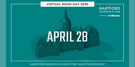 Hartford Insurtech Hub - Virtual 2020 Demo Day! tickets