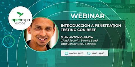 Introducción a penetration testing con BeEF entradas