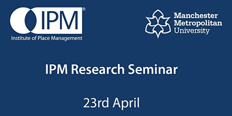 IPM Research Seminar tickets
