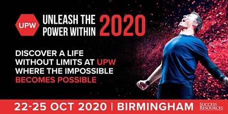 Tony Robbins | Unleash The Power Within Birmingham | October 2020 tickets
