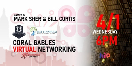 Free Coral Gables Rockstar Connect Networking Event (April, near Miami) tickets