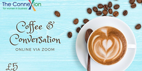 Online Coffee and Conversations with Connexions for Women in Business tickets