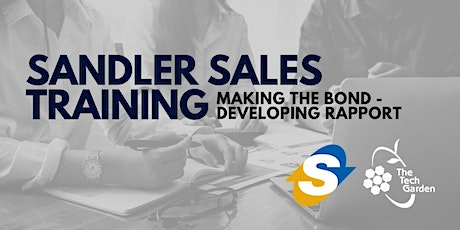Sales Training  WEBINAR: Making the Bond – Developing Rapport tickets