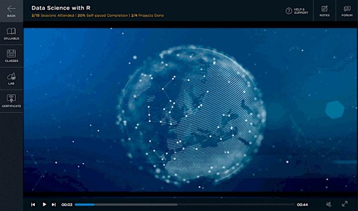300 Hours Live Virtual  Artificial Intelligence MasterClass Program image