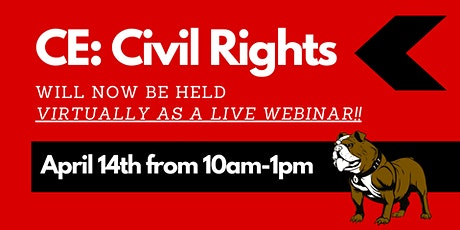 CE: Civil Rights LIVE WEBINAR tickets