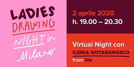 Ladies Drawing Night in Milano biglietti