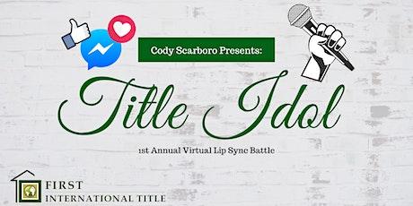 Title Idol: Virtual Lip Sync Battle tickets