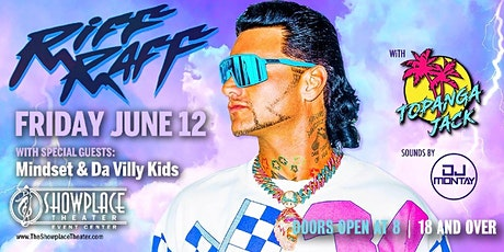 "Riff Raff Cranberry Vampire Tour ""POSTPONED"" tickets"