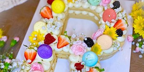 Cream Tart Cake Class #15 tickets