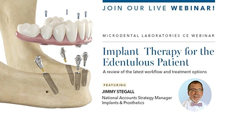 Implant Therapy for the Edentulous Patient tickets