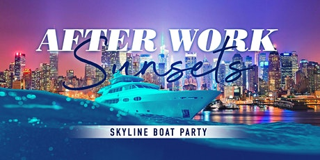 Afterwork Friday Sunset Yacht Cruise in Midtown - Statue of Liberty + NYC Skyline tickets